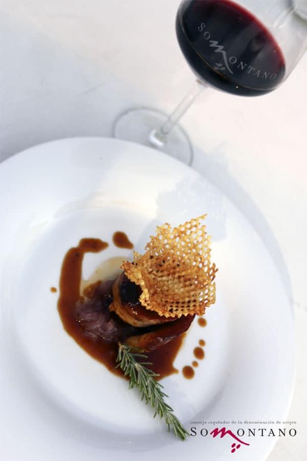 Restaurante Tres Caminos TAPA MÁS POPULAR Festival Vino Somontano 2016 ©Video Producto Online_MG_ tres caminos_2 copia