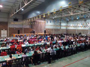 Cena popular Lalueza.