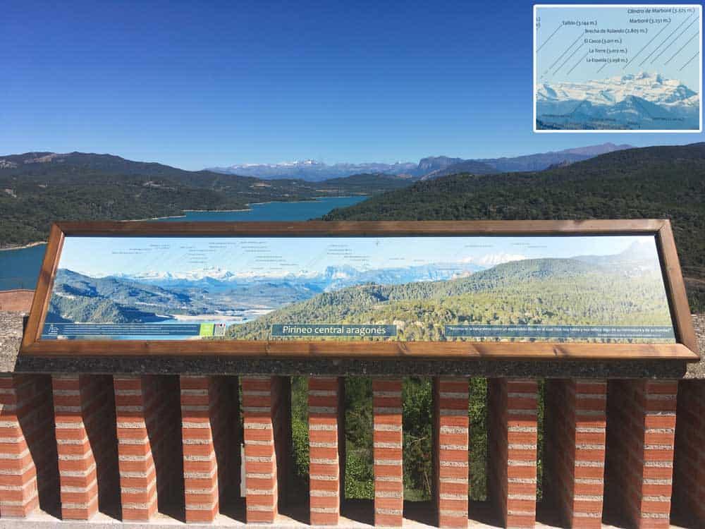 Nuevo atractivo tur stico en el santuario de torreciudad for Mirador del pirineo