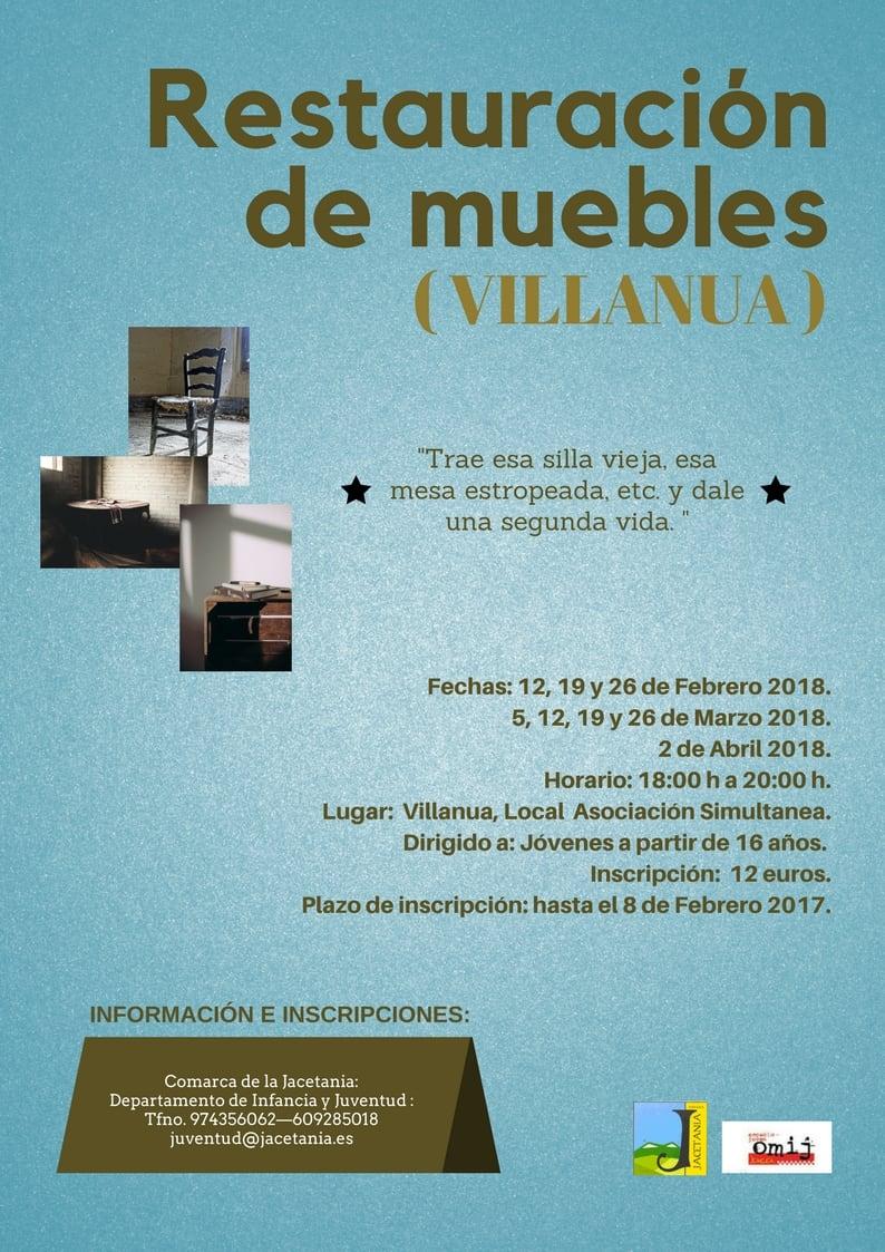 Villan A Taller De Restauraci N De Muebles Gente Con Ganas De Vivir # Muebles Rio Gallegos