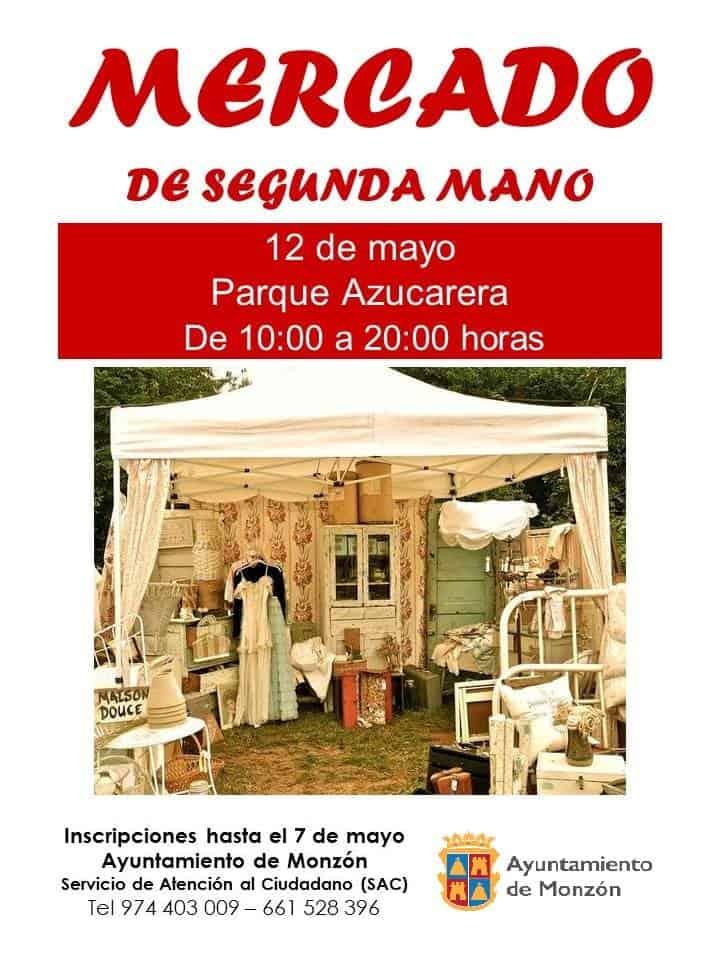 Monz n el 12 de mayo mercado de segunda mano en el paseo - Mercados de segunda mano barcelona ...