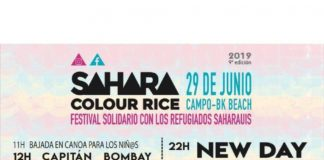 Programa y cartel del Sahara Colour Rice 2019