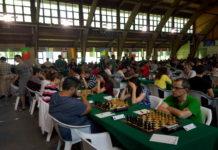 Una imagen del polideportivo de Benasque, sede del Open, en la edición de 2018 (Foto: Servicio especial)