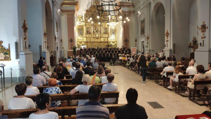 Benabarre. Concierto inaugural de Clásicos en la Frontera (Foto: Carlota Mur)