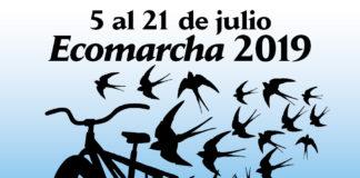 Cartel de la Ecomarcha 2009