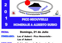 Excursión del CER al PICO NEOUVIELLE HOMENAJE A ALBERTO RUBIO 21-07-2019