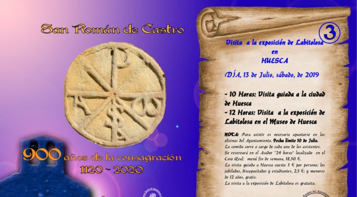 La Puebla de Castro - Visita a la Exposición de Labitolosa en Huesca.