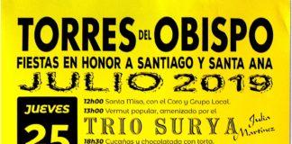 Torres del Obispo. Programa de Fiestas