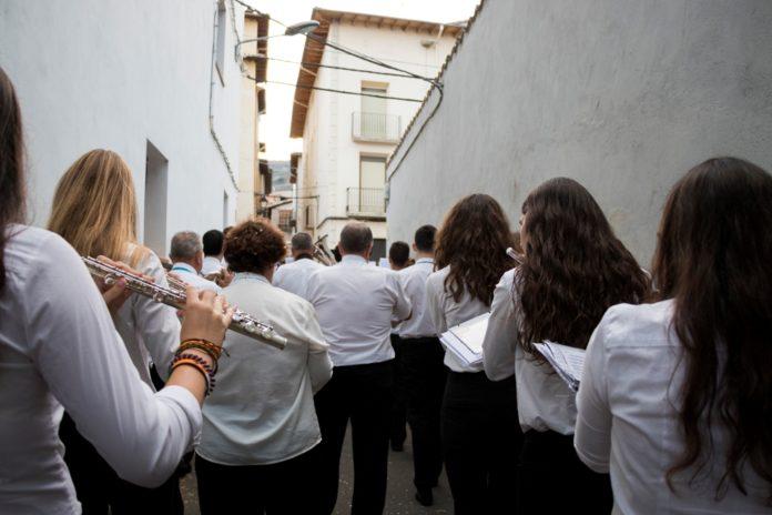 imagen de la banda de la A.G. Gradense (Foto: Servicio especial)