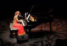 Carmen París en plena actuación (Foto: Servicio especial)