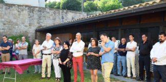 Organizadores, autoridades y público en la presentación d ela nueva edición de la Fiesta (Foto: Angel Gayúbar)