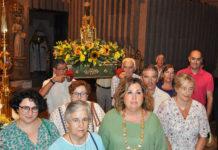 Alcaldes y vecinos celebran la fiesta de la Virgen de Torreciudad (Foto: José Alfonso Arregui)