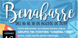 BENABARRE fiestas de AGOSTO 2019