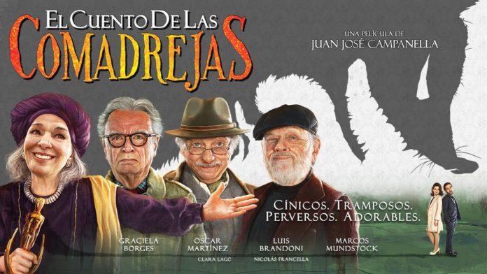 Cartel de la película El cuento de las comadrejas
