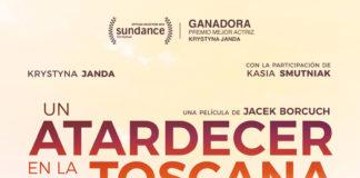 Cartel de la película Un atardecer en la Toscana