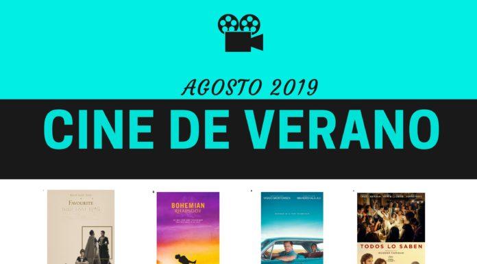 Castejón de Sos Cartel Cine de Verano AGOSTO 2019