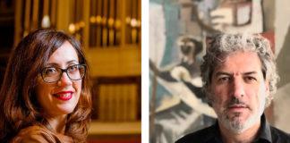 Esther Ciudad y Juanjo Guillem, los intérpretes del primer concierto del Ciclo (Foto: Servicio especial)