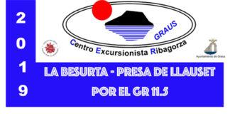 Excursión del CER LA BESURTA - PRES DE LLAUSET 25-08-2019