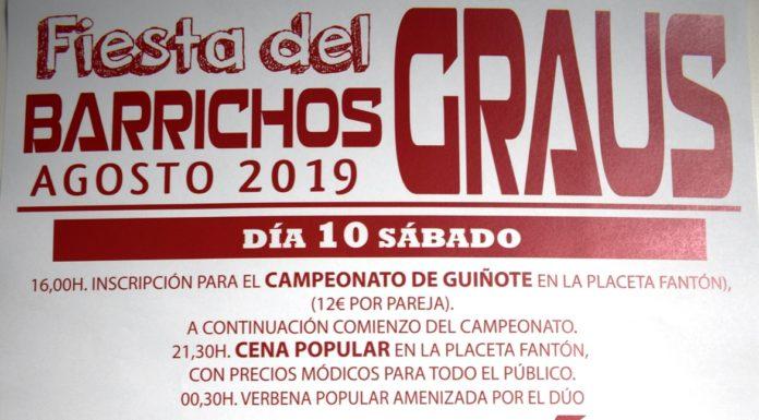 Graus Fiestas del Barrichós 2019