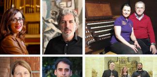 Intérpretes Ciclo de Órgano de Torreciudad 2019 (Foto: Torreciudad)