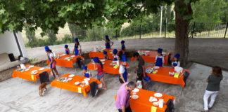 Los jóvenes cocineros en plena faena (Foto: Servicio especial)