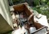 Estado de unos tubos de captación de agua potable (Foto: Asociación Pico Sarllé