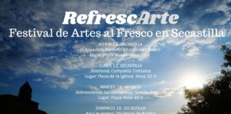 """""""RefrescArte"""" Festival de Artes al Fresco en Secastilla"""