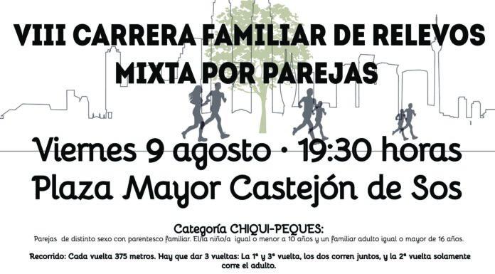VIII CARRERA FAMILIAR MIXTA POR PAREJAS 2019