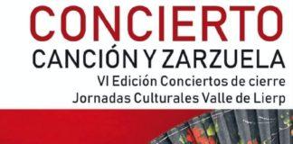 Valle de Lierp Concierto de canción y zarzuela