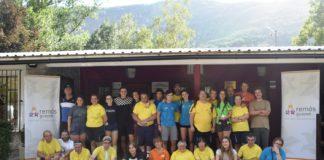 Voluntarios y usuarios de El Remós en una foto de grupo (Foto: Asociación Guayente)