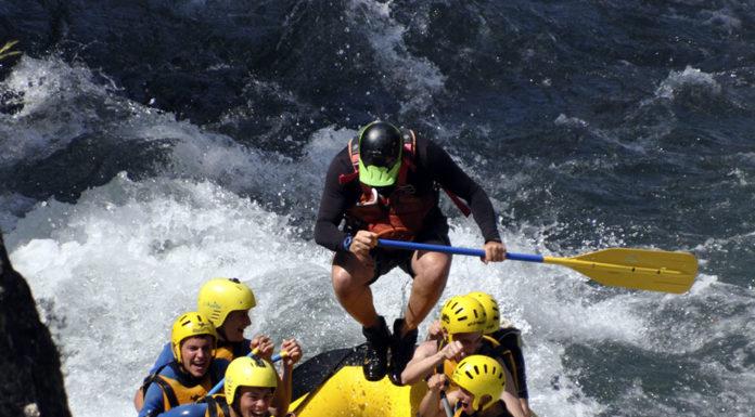 Un descenso en rafting por las aguas del Ésera (Foto: Eseraventura)