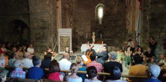 Concierto celebrado en la iglesia de Montañana (Foto: Carlota Mur)