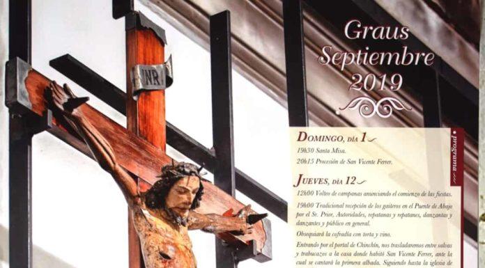 Graus Programa festivo de la Cofradía del Santo Cristo