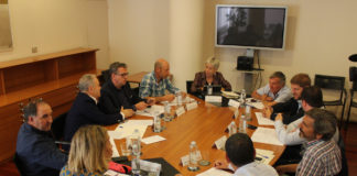 Reunion de la Comisión Coordinación de Montrrebei