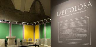 Vista de la exposición sobre Labitolosa en el museo oscense (Foto: Museo de Huesca)