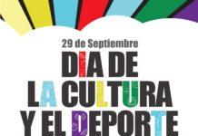 Cartel del Dia de la Cultura y el Deporte