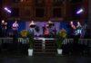 La Ronda de Boltaña durante su actuación en Graus (Foto: Angel Gayúbar)