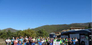 Particpantes en el encuentro de clubes senderistas (Foto: CER)
