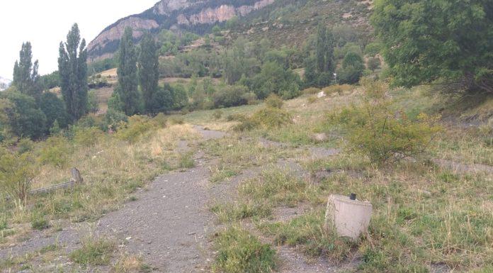 Terrenos de La Solaneta donde se encuentran las parcelas de los vecinos de Cerler (Foto: Servicio especial)