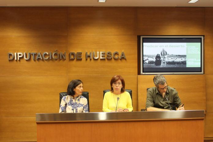 Presentación de la Jornada en Huesca (Foto: DPH)