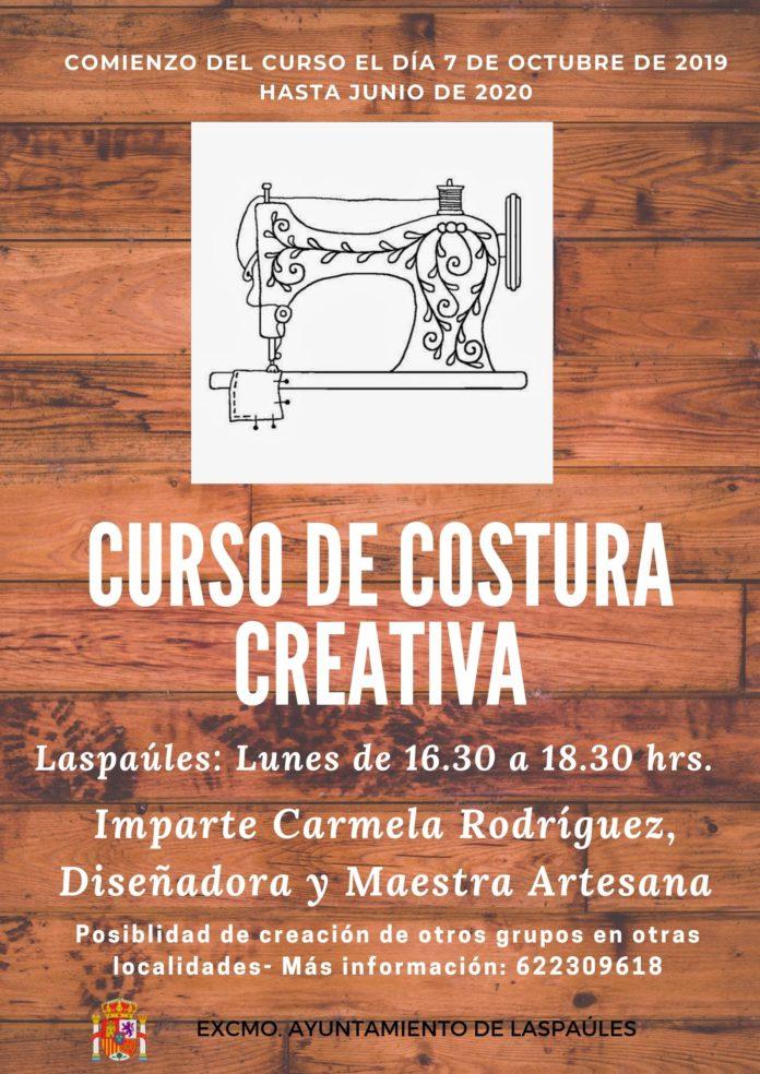 LASPAÚLES - CURSO DE COSTURA CREATIVA