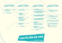 PROGRAMACIÓN FIESTAS CASTEJÓN DE SOS 2019