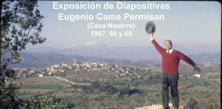Cartel Exposición Fotos de Eugenio Cama Permisan en La Puebla de Castro