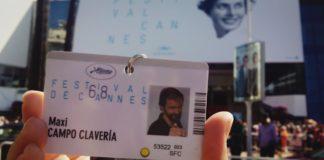 Acreditación de Maxi Campo, una de cuyas obras se proyecta este jueves (Foto: Servicio especial)