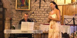 Ana Gloria Corellano y Enrique Lleida (Foto: Lo Consell de Laspaúls)