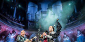 Carlos Núñez, en la imagen en el Palau de la Música, vuelve de nuevo a Graus (Foto: Servicio especial)