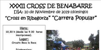 Cartel anunciador del Cross de Benabarre