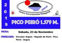 GRAUS - CER EXCURSIÓN AL PICO PEIRÓ 23-11-2019