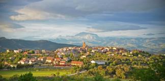 Vista general de La Puebla de Castro (Foto: Servicio especial)