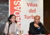 Adriana Maldonado y Antonio Cosculluela en la clausura de las Jornadas del PSOE (Foto: Servicio especial)
